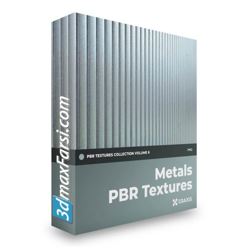 Download CGAxis Metals PBR Textures Collection Vol 6