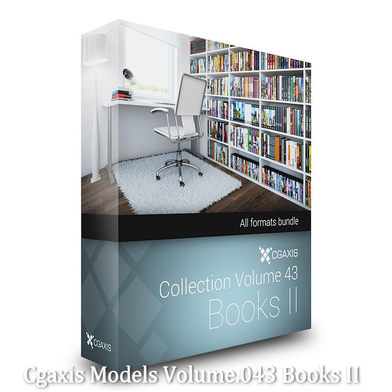 Download Cgaxis Models Volume.043 Books II