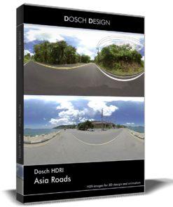 Downloda DOSCH HDRI: Asia Roads