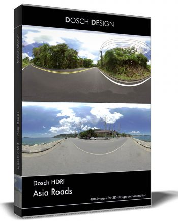 Downloda DOSCH HDRI: Asia Roads