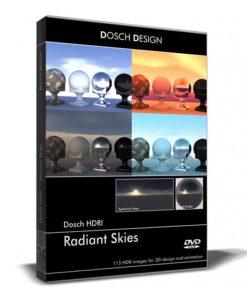 Download DOSCH – HDRI Radiant Skies
