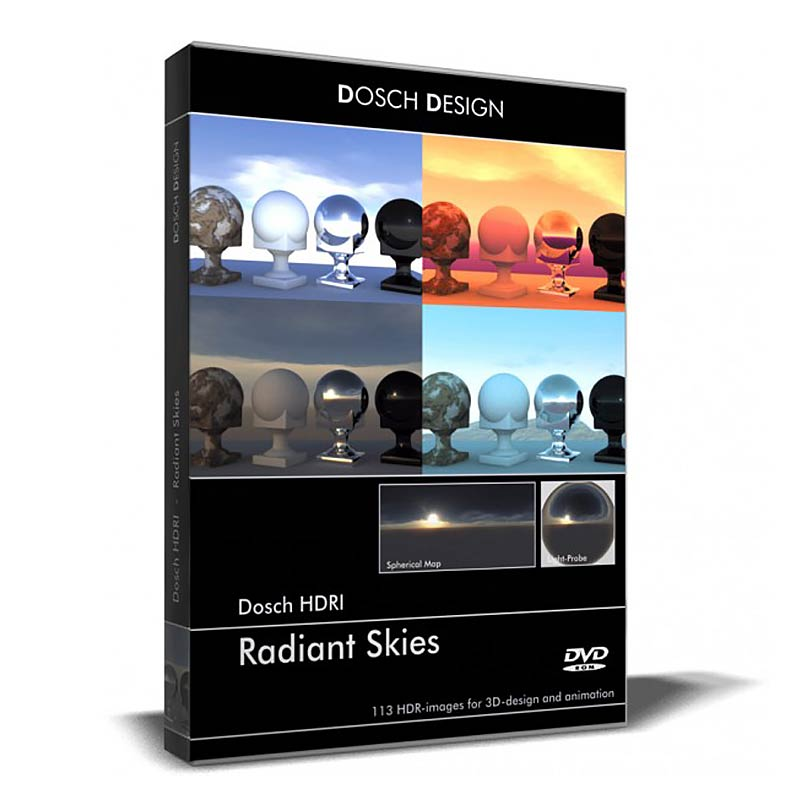 Download DOSCH – HDRI Radiant Skies