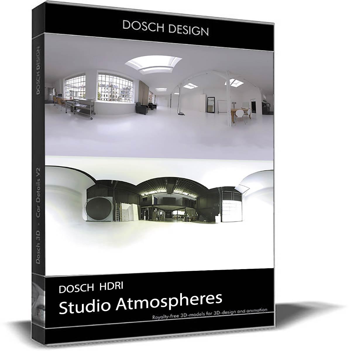 Download DOSCH HDRI: Studio Atmospheres