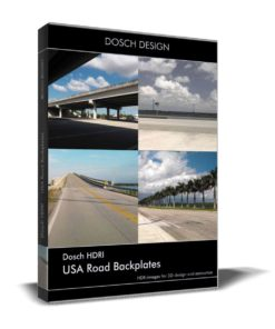 Download Dosch HDRI USA Road Backplates