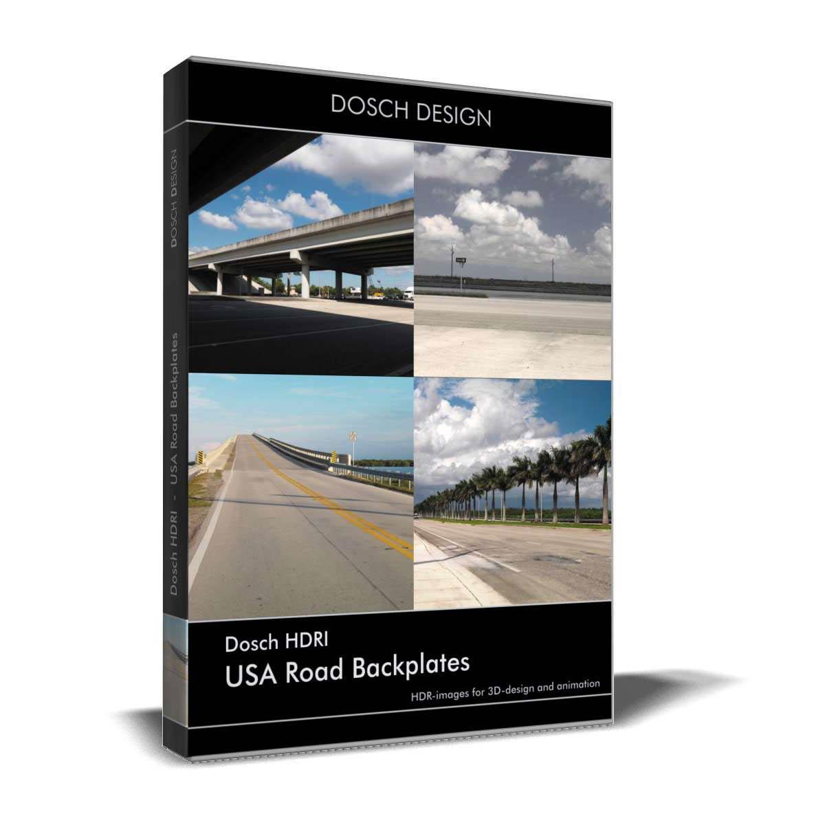Download Dosch HDRI USA Road Backplates