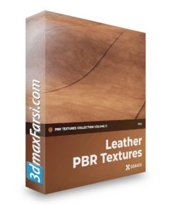 Download CGAxis Leather PBR Textures Collection Volume 11