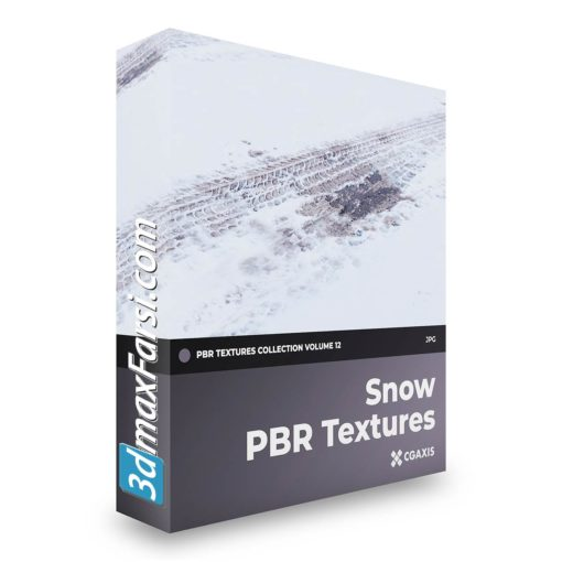 Download CGAxis PBR Textures Volume 12 – Snow