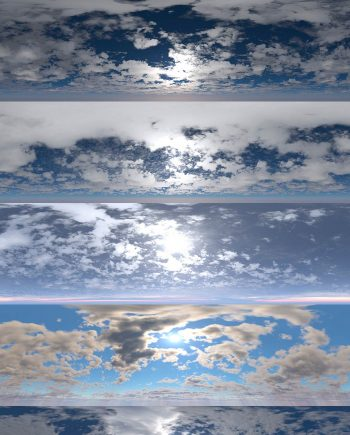 Download DOSCH HDRI Cloudy Skies