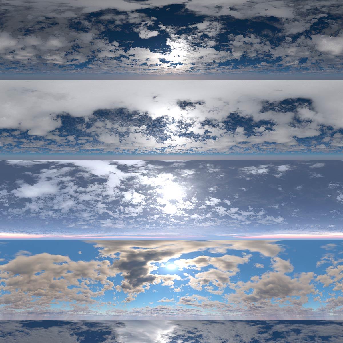 Download DOSCH HDRI Cloudy Skies
