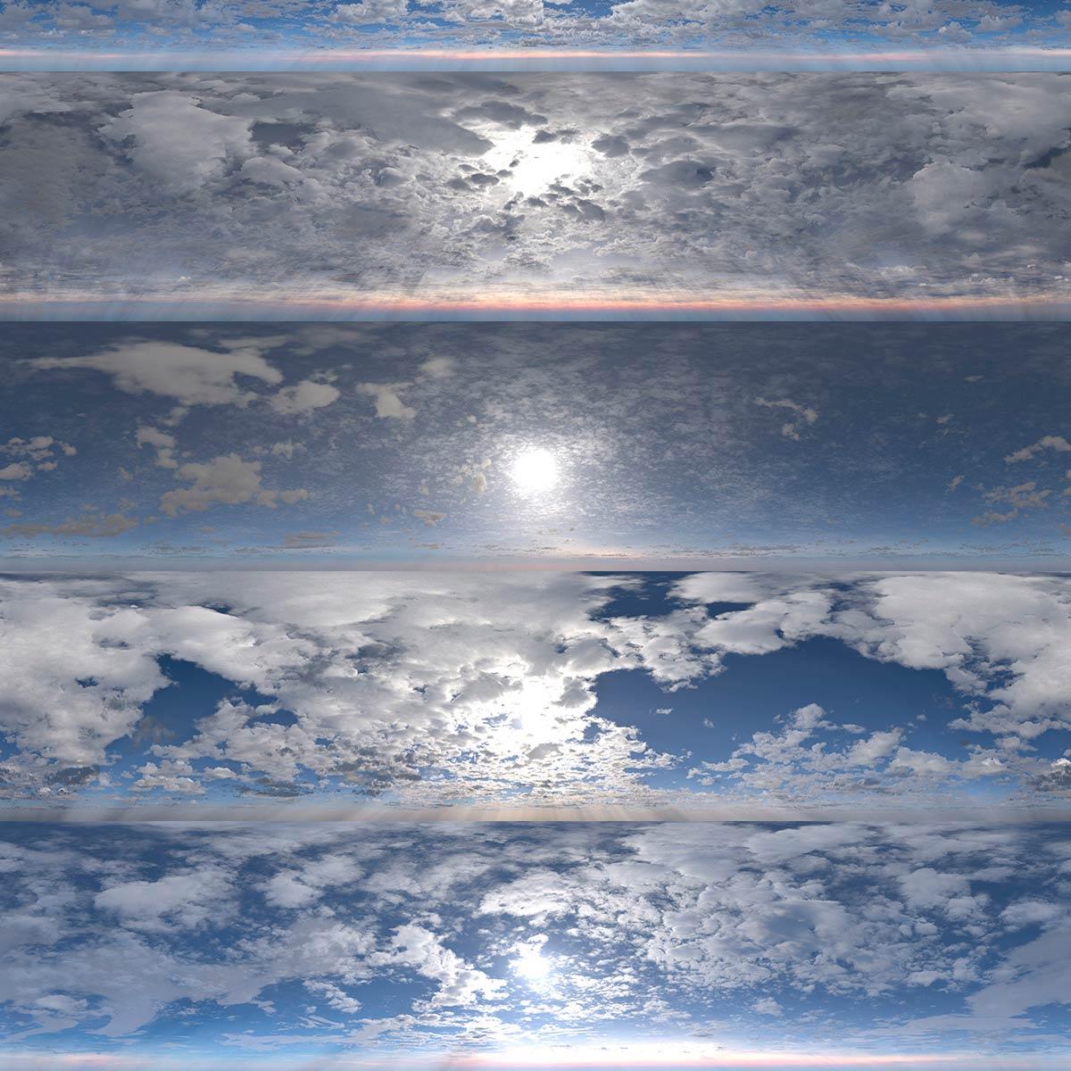 DOSCH HDRI Cloudy Skies