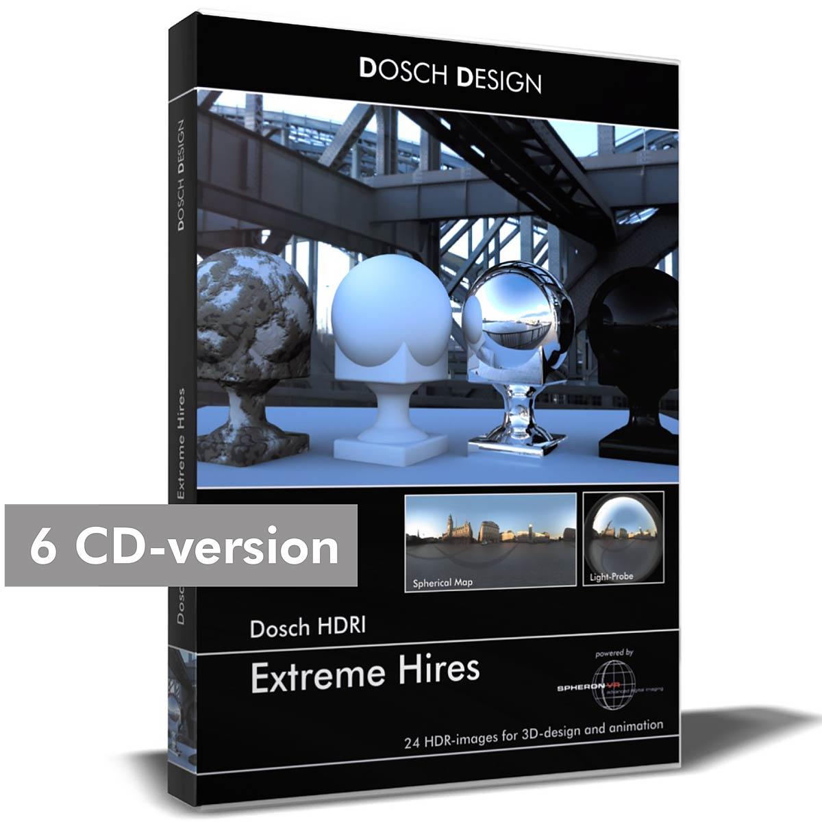 Download DOSCH design Extreme Hires hdri
