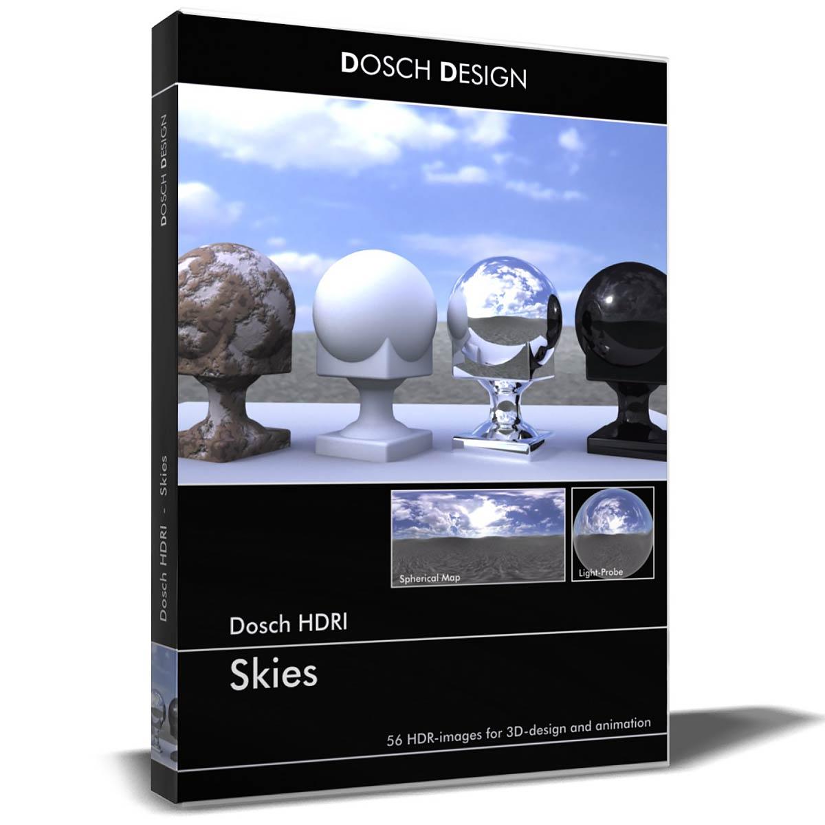 Download DOSCH HDRI Skies