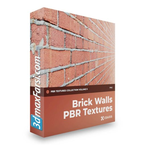 Download CGAxis Brick Walls PBR Textures – Collection Volume 9