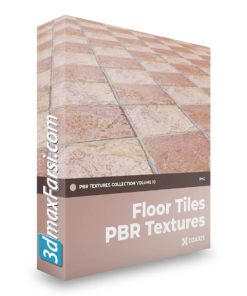 Download CGAxis Floor Tiles PBR Textures – Collection Volume 10