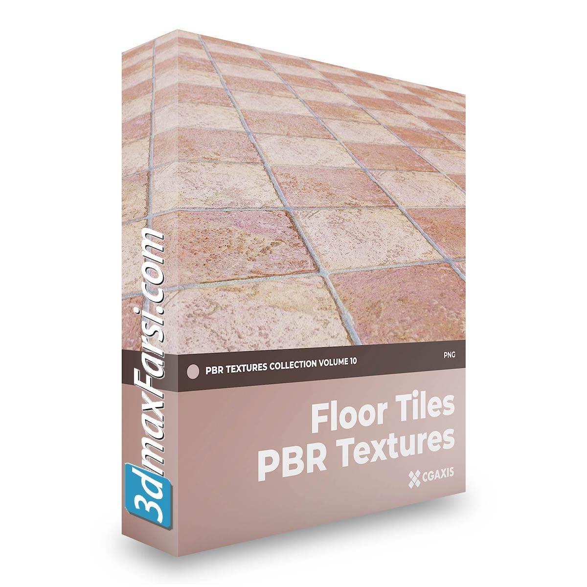 Download CGAxis Floor Tiles PBR Textures – Collection Volume 10