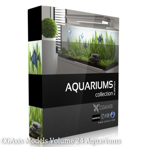 Download Cgaxis Models Volume.024 Aquariums