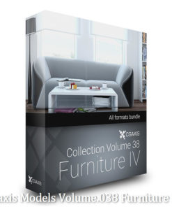Download Cgaxis Models Volume.038 Furniture IV