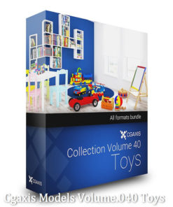 Download Cgaxis Models Volume.040 Toys