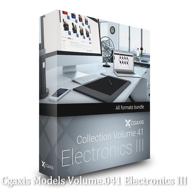 Download Cgaxis Models Volume.041 Electronics III