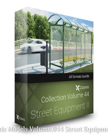 Download Cgaxis Models Volume.044 Street Equipment II