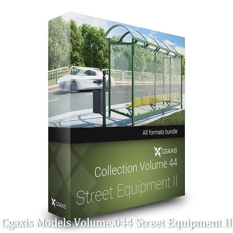Download Cgaxis Models Volume.044 Street Equipment II