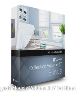 Download Cgaxis Models Volume.047 3d Blinds