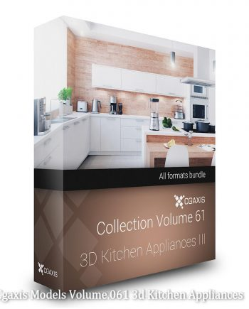 Download Cgaxis Models Volume.061 3d Kitchen Appliances