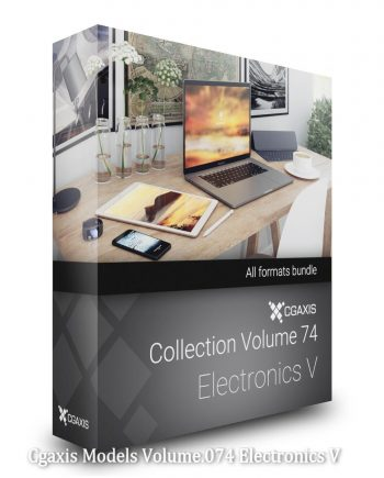 Download Cgaxis Models Volume.074 Electronics V