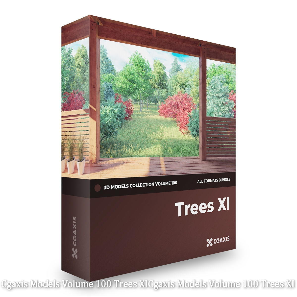 Download Cgaxis Models Volume 100 Trees XI