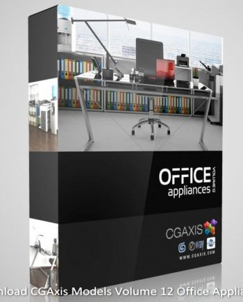 Download CGAxis Models Volume 12 Office Appliances