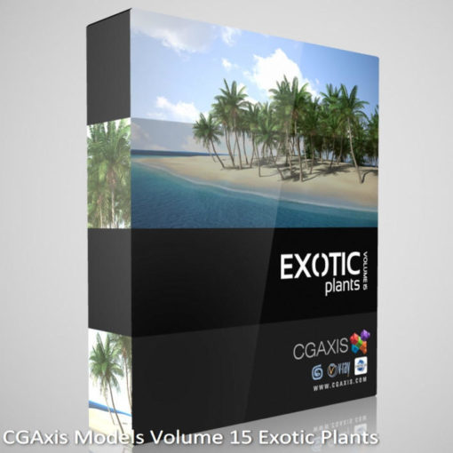 Download CGAxis Models Volume 15 Exotic Plants