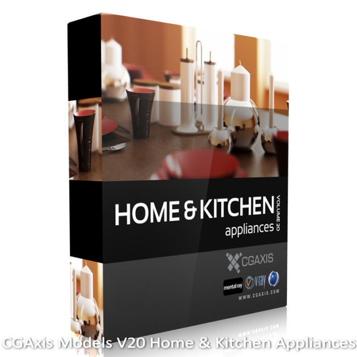 Download CGAxis Models V 20 Home & Kitchen Appliances