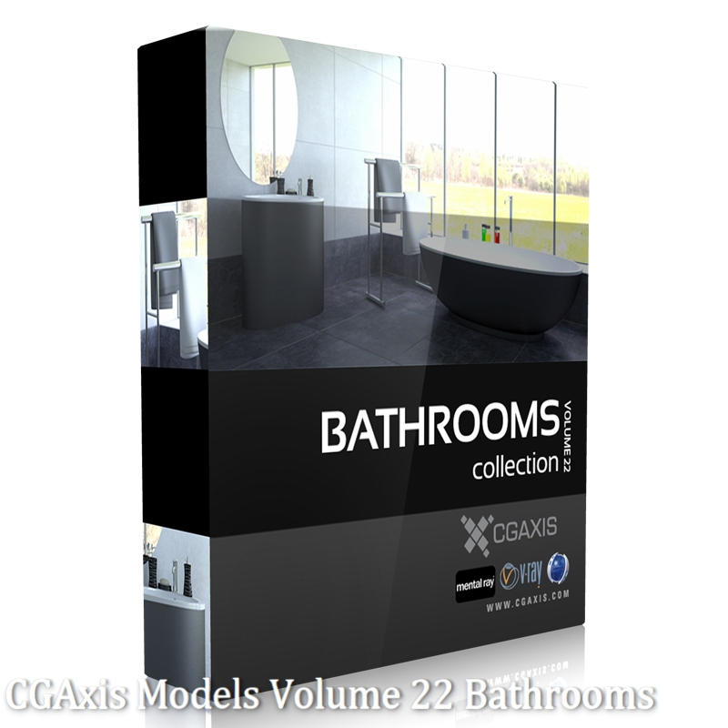 Photo of CGAxis Models Volume 22 Bathrooms
