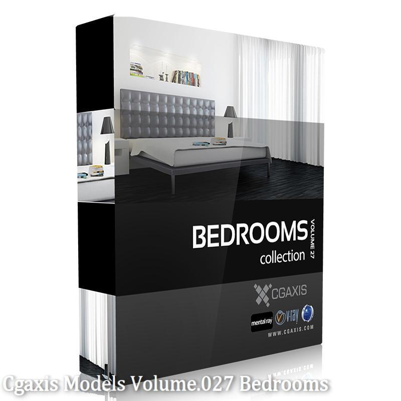 Download CGAxis Models Volume 27 Bedrooms