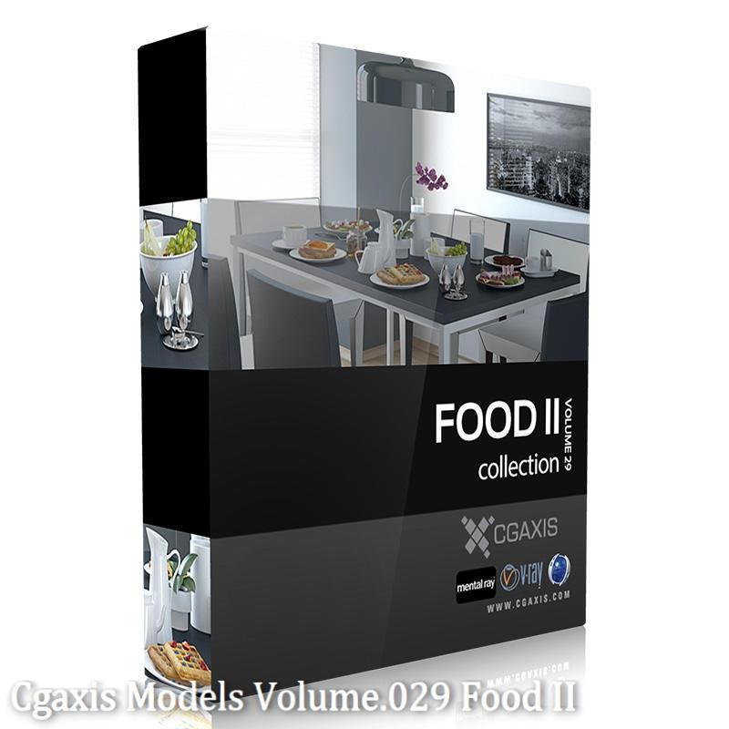 Download CGAxis Models Volume 29 Food II