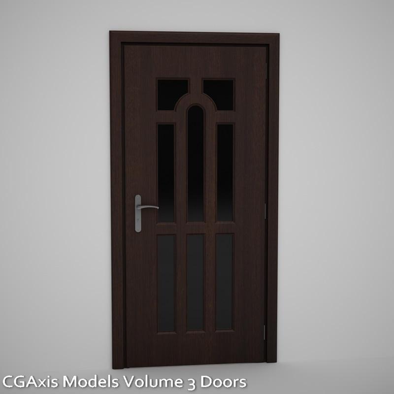 Downlaod CGAxis Models Volume 3 Doors
