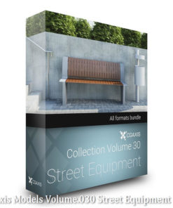 Download CGAxis Models Volume 30 Street Equipment