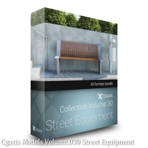 Download CGAxis Models Volume 30 Street Equipment