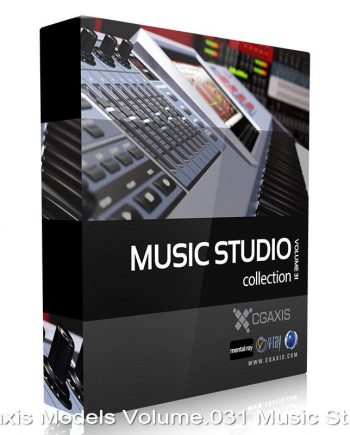 Download CGAxis Models Volume 31 Music Studio