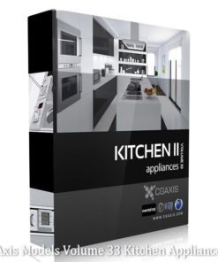 Download CGAxis Models Volume 33 Kitchen Appliances II