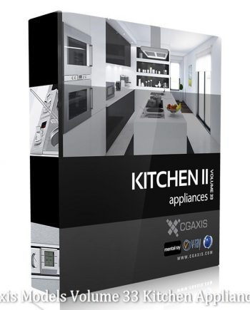 Download CGAxis Models Volume 33 Kitchen Appliances II