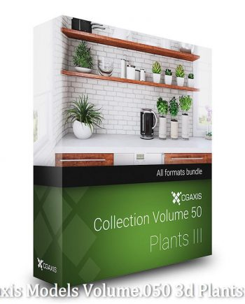 Download CGAxis Models Volume 50 3D Plants III
