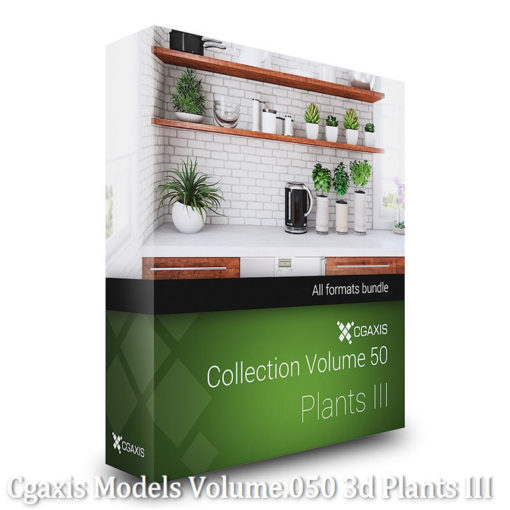 Download CGAxis Models Volume 50 3D Plants III