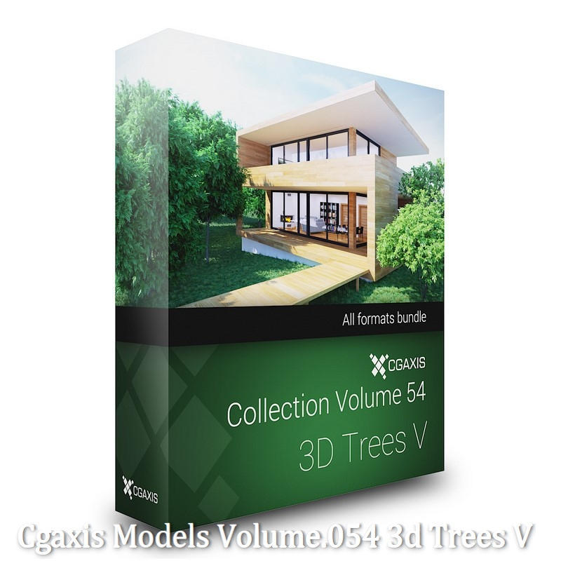 Download CGAxis Models Volume 54 3D Trees V