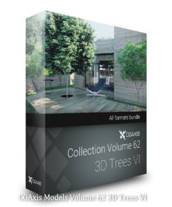 Download CGAxis Models 62 3D Trees VI