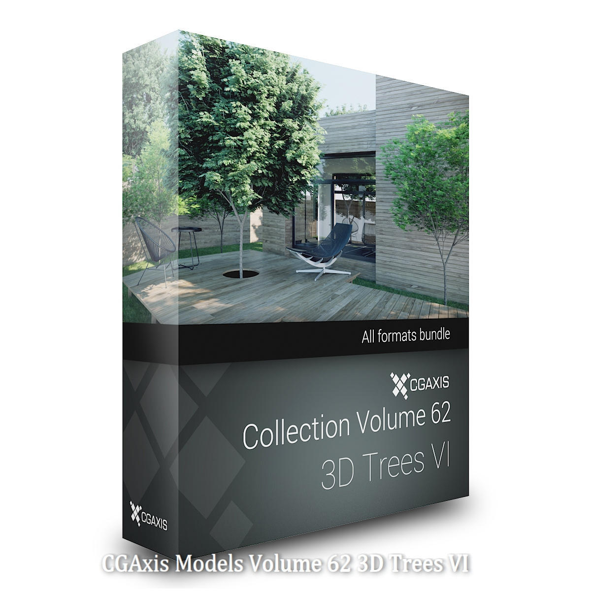 Download CGAxis Models 62 3D Trees VI