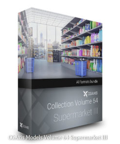 Download CGAxis Models Volume 64 Supermarket III