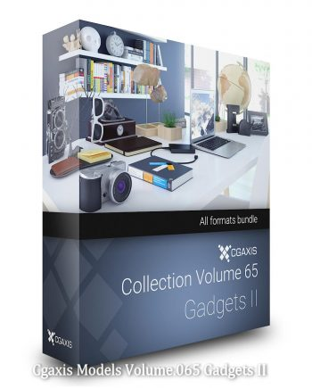 Download CGAxis Models Volume 65 Gadgets II