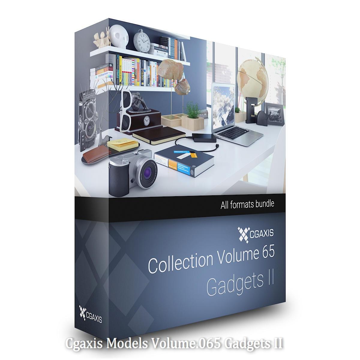 Download CGAxis Models Volume 65 Gadgets II