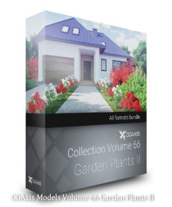 Download CGAxis Models Volume 66 Garden Plants II